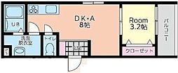 トワーニ北鎌倉[2階]の間取り