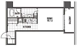 THE LINDOS(リンドス)[11階]の間取り