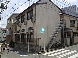 神奈川県川崎市高津区諏訪2丁目の賃貸アパートの外観