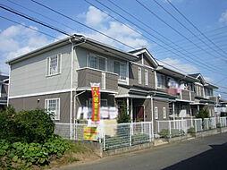 栃木県下野市祇園2丁目の賃貸アパートの外観