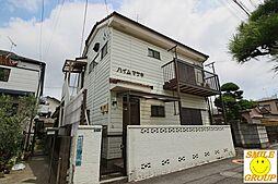 千葉県市川市大洲3の賃貸アパートの外観