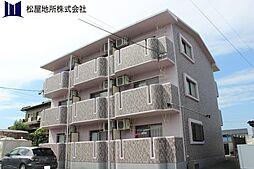 愛知県豊橋市西幸町字浜池の賃貸マンションの外観