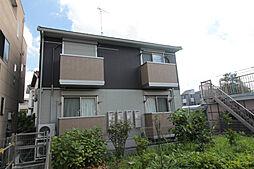 神奈川県川崎市多摩区菅北浦1丁目の賃貸アパートの外観