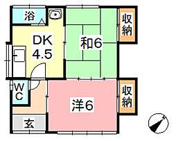 [一戸建] 岡山県倉敷市連島町鶴新田 の賃貸【/】の間取り