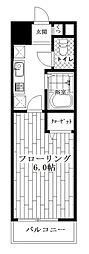 東京都中野区野方3丁目の賃貸マンションの間取り