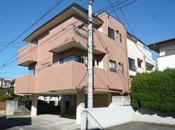 東京都青梅市河辺町4丁目の賃貸マンションの外観