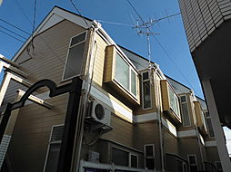 千葉県柏市豊町2丁目の賃貸アパートの外観