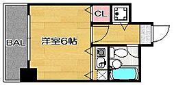 パレックス南福岡[501号室]の間取り