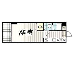 ビラカスガ[1階]の間取り