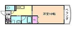 ドルフ福島[3階]の間取り