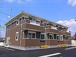 愛知県岡崎市竜美大入町1丁目の賃貸アパートの外観