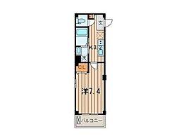 ラ・フォレ ヒダカ 磯子[1階]の間取り