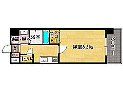 ローズモント・フレア薬院Ⅱ[8階]の間取り