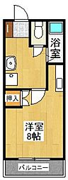 レジデンス高松[503号室]の間取り