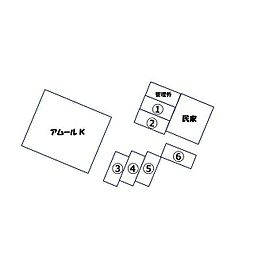 アムールK[202号室]の外観