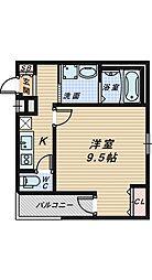 フジパレス堺南長尾Ⅴ番館[2階]の間取り