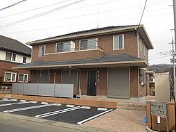 栃木県栃木市大森町の賃貸アパートの外観