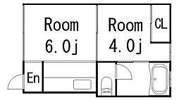 新生ビル[302号室]の間取り