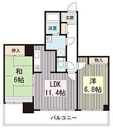 東京都練馬区春日町3丁目の賃貸マンションの間取り