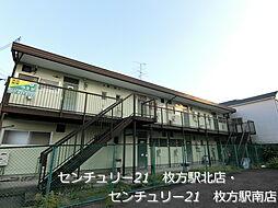 奥野ハイツC棟[2階]の外観