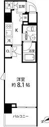 DeLCCS TOKYO BAY デルックス東京ベイ 5階1Kの間取り