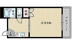 いほりコーポ[3階]の間取り