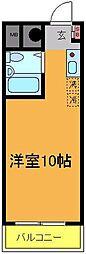 榮晃レジデンス[211号室]の間取り