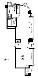 麻布十番ロイヤルプレイス[7階]の間取り
