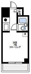 マリオンテクノウィング川崎[2階]の間取り