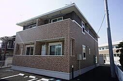 栃木県栃木市大町の賃貸アパートの外観