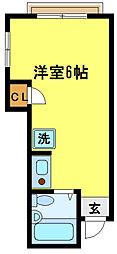 ナイスタウン北浦和[2階]の間取り