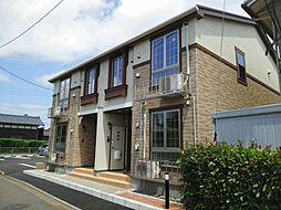 新潟県新潟市中央区姥ケ山6丁目の賃貸アパートの外観