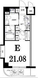 神奈川県川崎市宮前区有馬1丁目の賃貸マンションの間取り