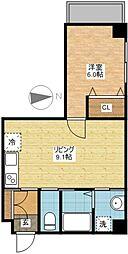 ビスタ長崎[2階]の間取り