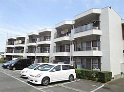 東京都日野市程久保1丁目の賃貸マンションの外観