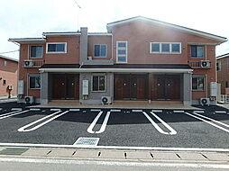 栃木県栃木市大宮町の賃貸アパートの外観