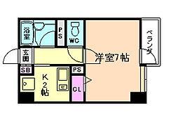 メゾンF[4階]の間取り