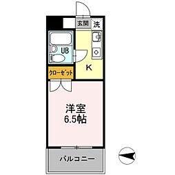 メゾン・ド・ドリーム横浜[1階]の間取り