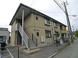 シャーメゾン米田B[2階]の外観