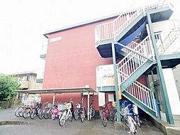 東京都羽村市神明台4丁目の賃貸マンションの外観