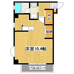 東京都葛飾区東新小岩8丁目の賃貸マンションの間取り