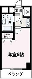 埼玉県朝霞市浜崎2丁目の賃貸マンションの間取り