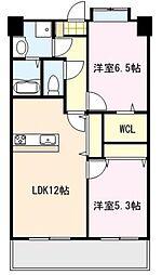 第33川崎ビル[503号室]の間取り