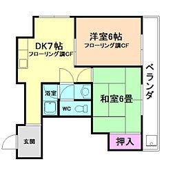 メゾン神田[3階]の間取り