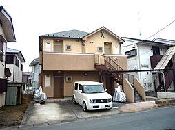 神奈川県川崎市麻生区岡上の賃貸アパートの外観