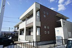 栃木県宇都宮市今宮2の賃貸アパートの外観