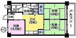 ザ インペリアルマンション[2階]の間取り