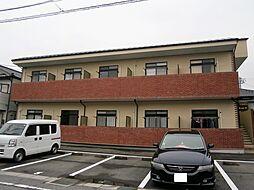 愛知県岡崎市河原町の賃貸アパートの外観
