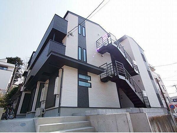 神奈川県横浜市青葉区市ケ尾町の賃貸アパート
