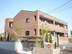 愛知県長久手市市が洞1丁目の賃貸アパートの外観